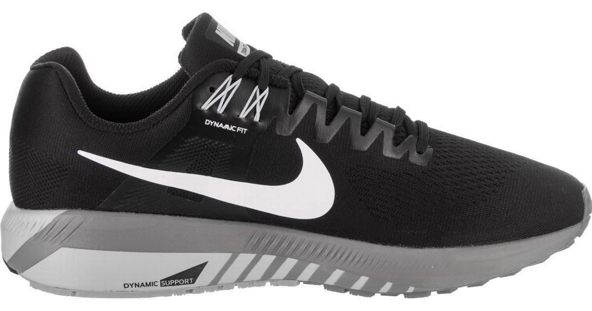 promo code 9d4a9 e0626 Nike Air Zoom Structure 21 - Black Grey White - Hitta bästa pris,  recensioner och produktinfo - PriceRunner