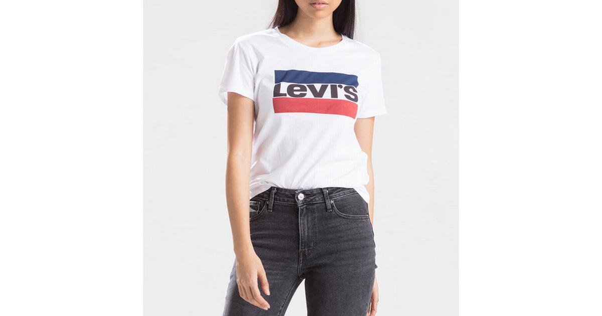 ac52cf5f0 Levi's The Perfect Graphic Tee Sportswear Logo White