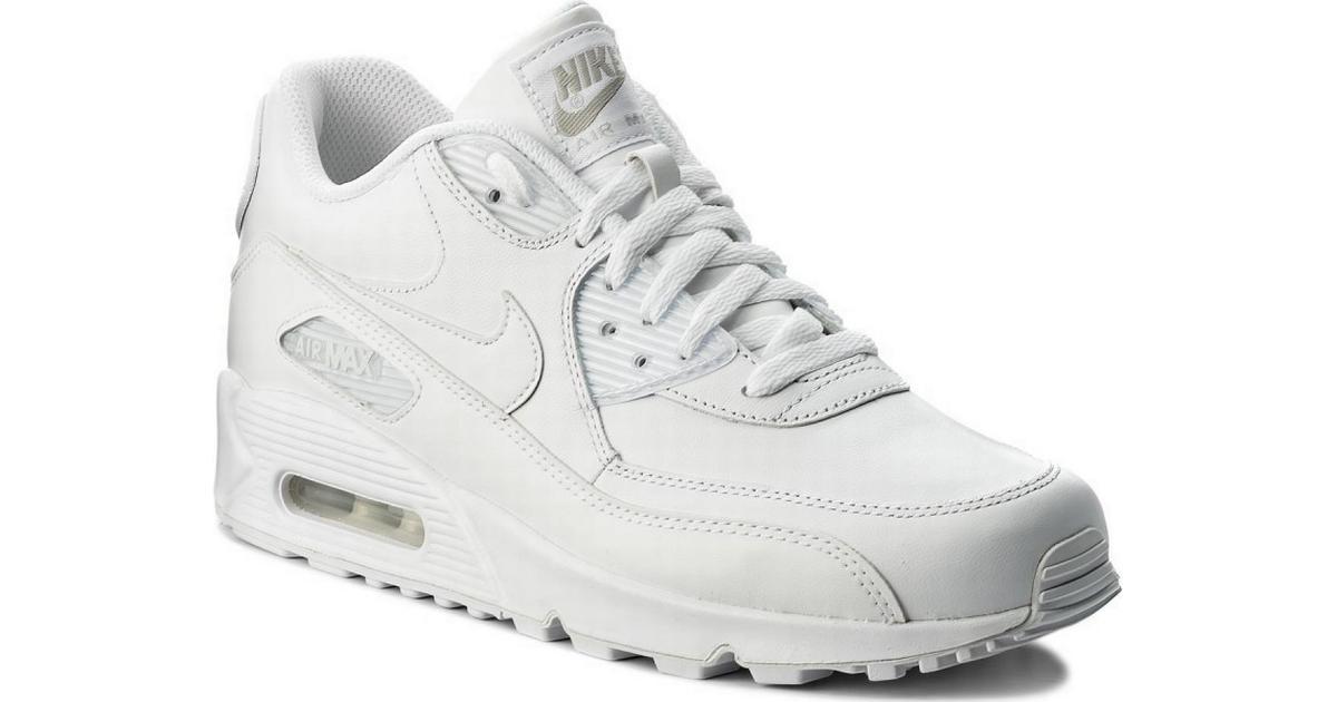 check out e692d 93662 Nike Air Max 90 Leather - White - Hitta bästa pris, recensioner och  produktinfo - PriceRunner