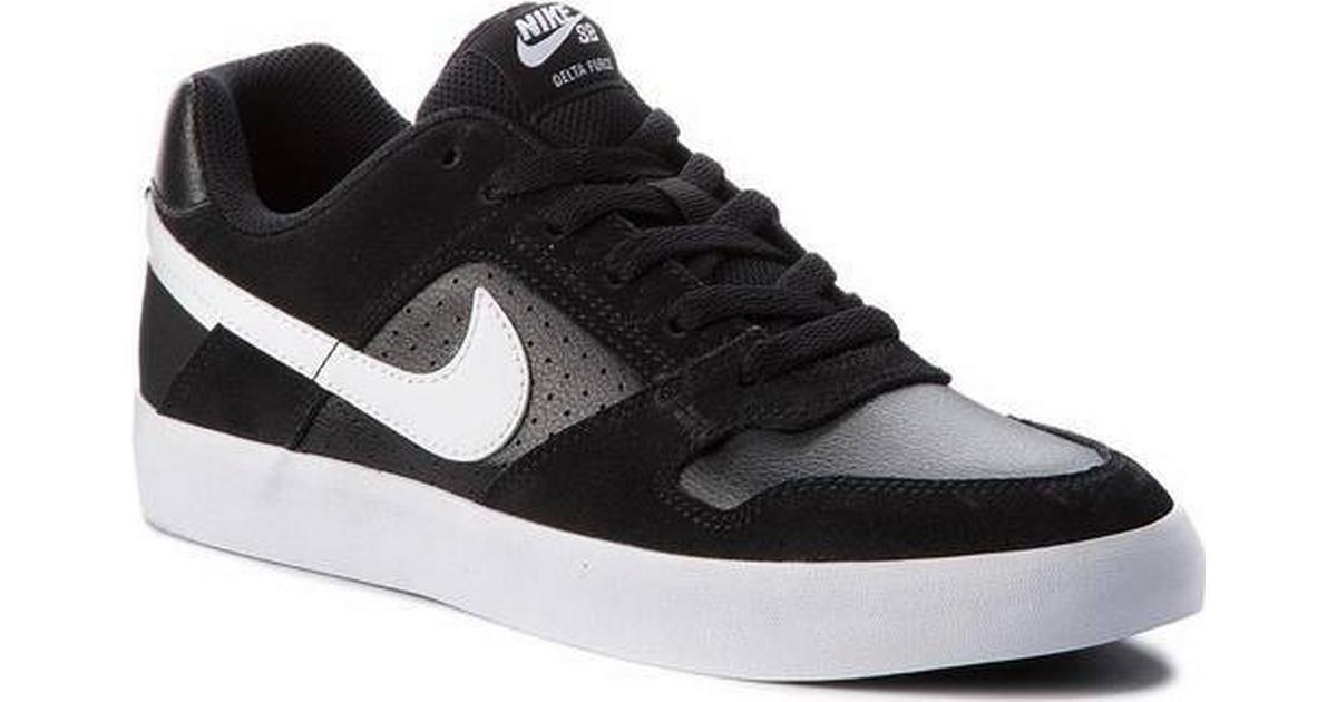 brand new 3640e 19a0d Nike SB Delta Force Vulc - Black White - Sammenlign priser hos PriceRunner