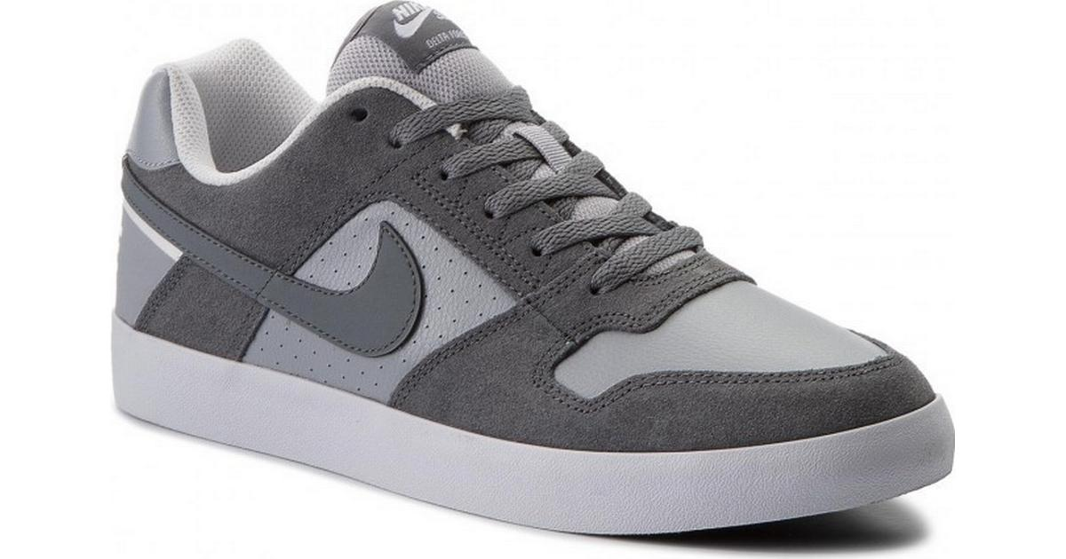 new concept b6f79 a7719 Nike SB Delta Force Vulc - Grey White - Sammenlign priser hos PriceRunner