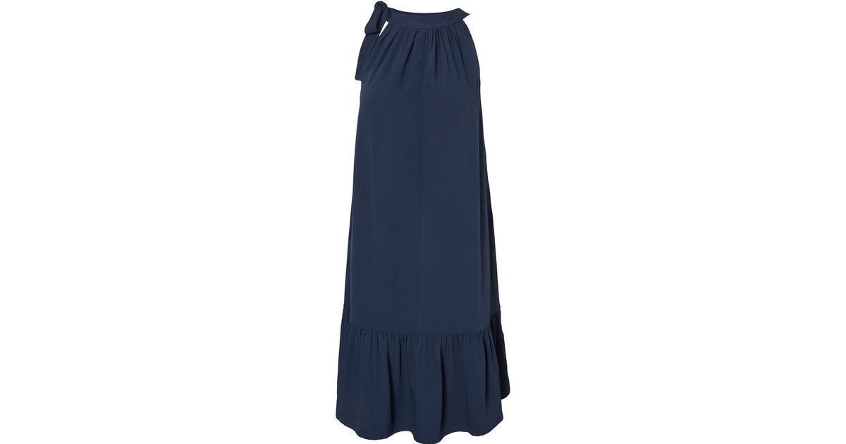 e3a117aeb491 Mama.licious Woven Nursing Dress Blue Black Iris (20008618) - Sammenlign  priser hos PriceRunner