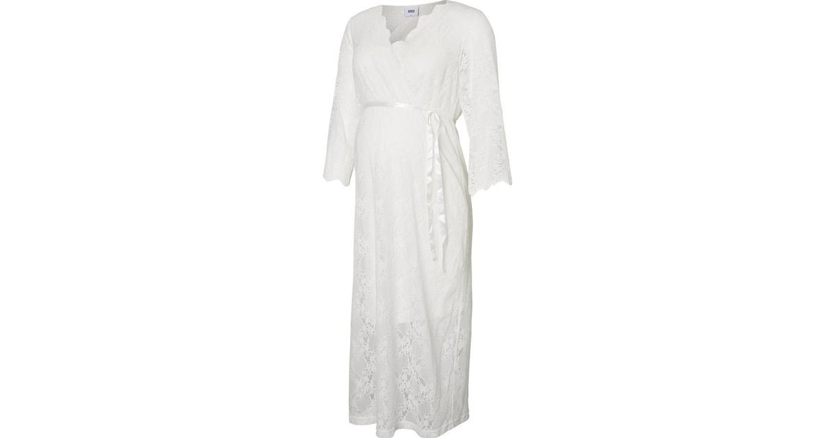 1d73e26dca07 Mama.licious Lace Maternity Dress White/Snow White (20008386) - Hitta bästa  pris, recensioner och produktinfo - PriceRunner