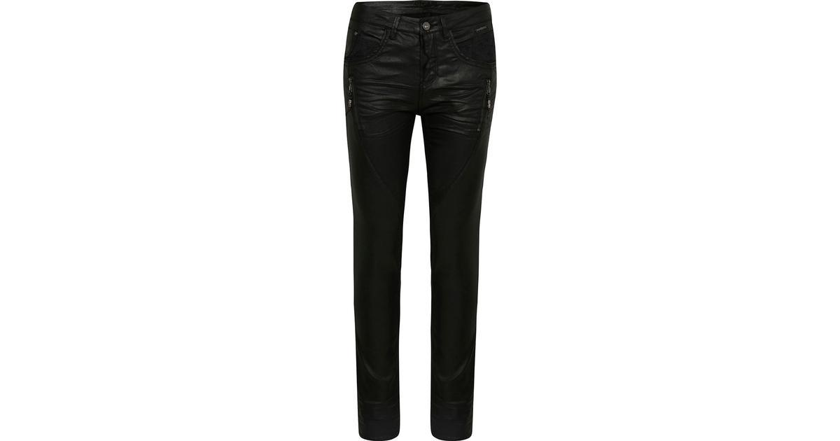 0bdfa10242 Cream Coated Jeans Pitch Black - Sammenlign priser hos PriceRunner