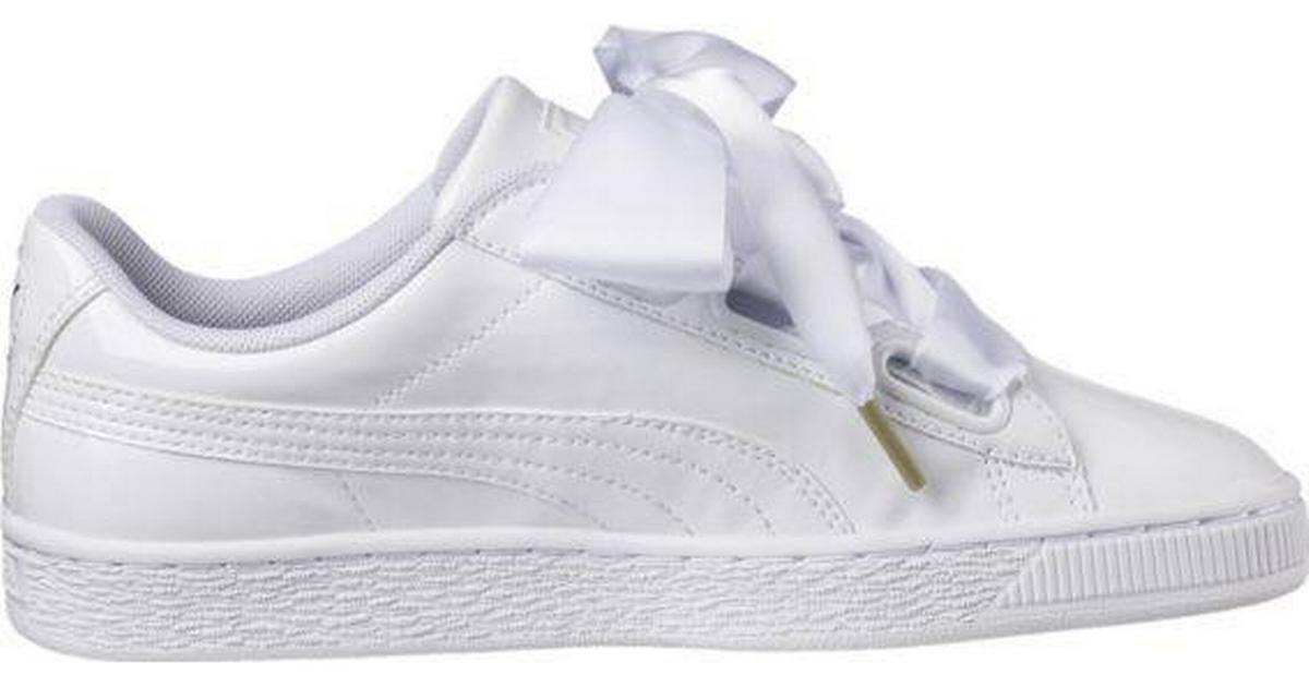 hvide puma sko