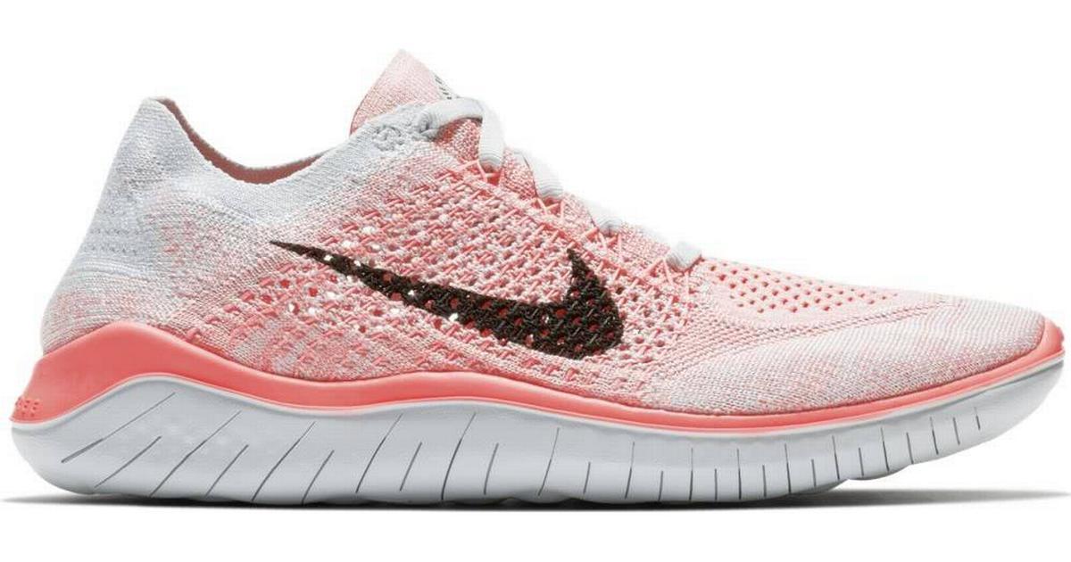 reputable site e1f23 6a465 Nike Free RN Flyknit 2018 W - Pink Black - Hitta bästa pris, recensioner  och produktinfo - PriceRunner