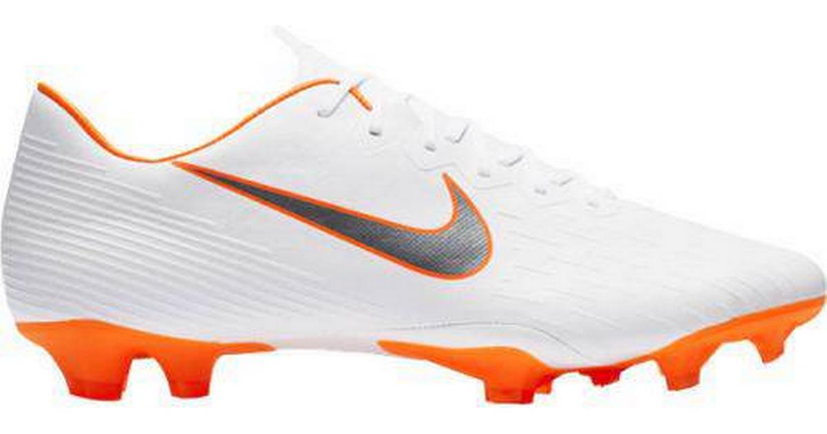 best website c8846 f3980 Nike Mercurial Vapor XII Pro FG - White/Orange - Sammenlign priser hos  PriceRunner