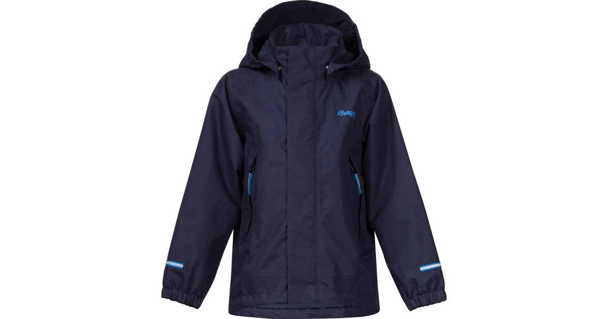b1b3197b Bergans Knatten Kids Jacket - Navy/Athens Blue (6950) - Sammenlign priser  hos PriceRunner