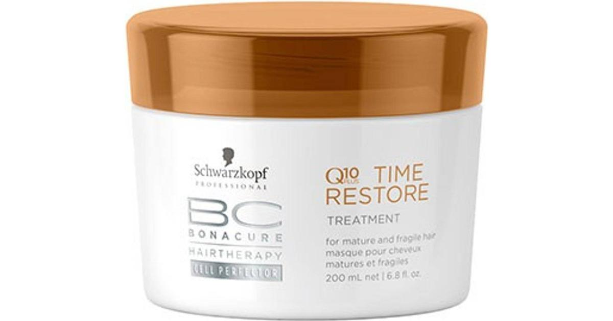a15ef6ca55 Schwarzkopf BC Q10 Time Restore Treatment 200ml - Compare Prices -  PriceRunner UK