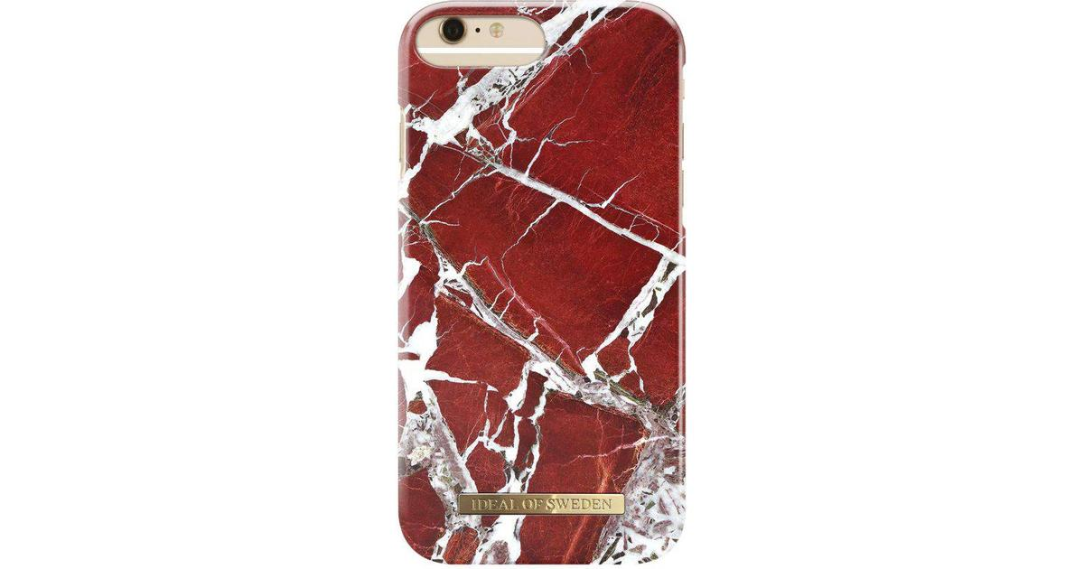 iDeal of Sweden Scarlet Red Marble Fashion Case (iPhone 6 6S 7 8 plus) - Hitta  bästa pris d94ae8e484a79