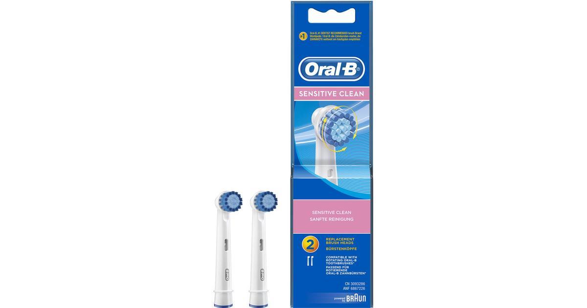 Oral-B Sensitive Clean 2-pack - Hitta bästa pris 5d9a878471ff2