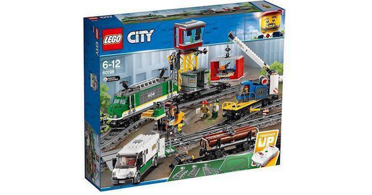 Lego City Godstog 60198 Sammenlign Priser Hos Pricerunner