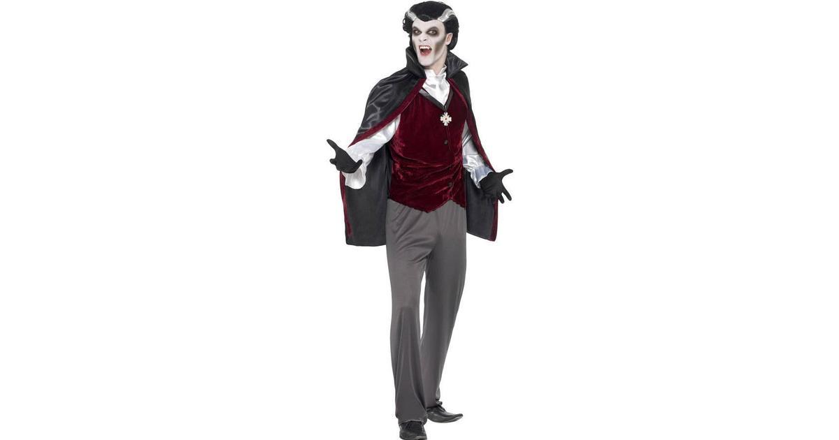 Smiffys Blodtörstig Vampyr Maskeraddräkt - Hitta bästa pris ... e456ed8c9d7ab