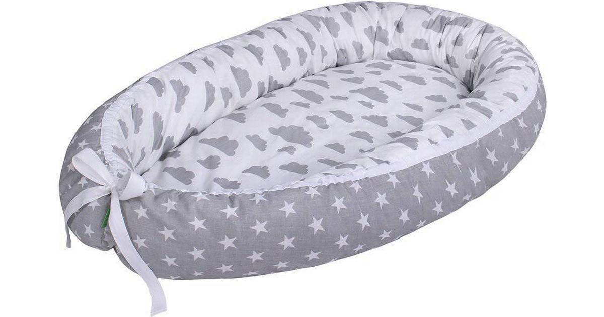 b2abaf5dce7 Lulando Cuddly Baby Nest Clouds with Stars - Sammenlign priser hos  PriceRunner