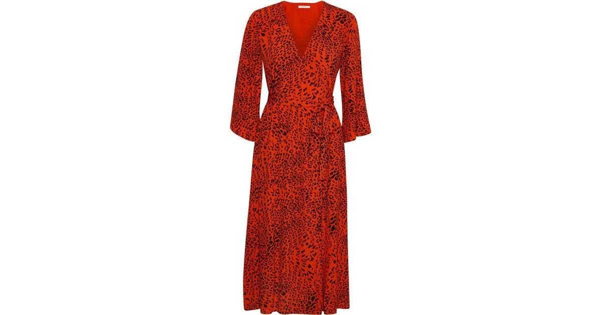 7f631130 Gestuz Loui Dress - Red Leopard - Sammenlign priser hos PriceRunner