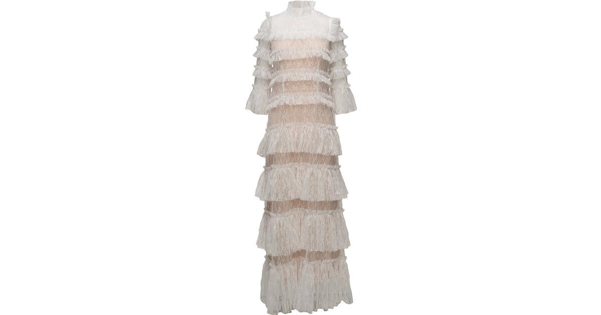 a4b1dd590dc7 By Malina Carmine Maxi Dress - Cloudy White - Sammenlign priser hos  PriceRunner