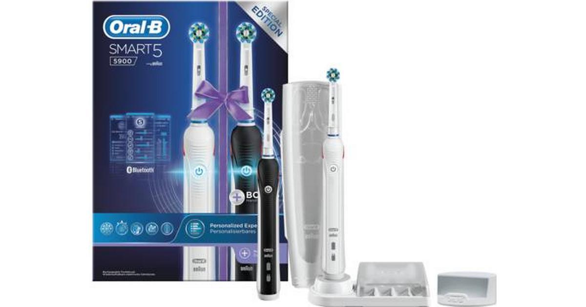 Oral-B Smart 5 5900 Duo - Hitta bästa pris 8286b7970947a