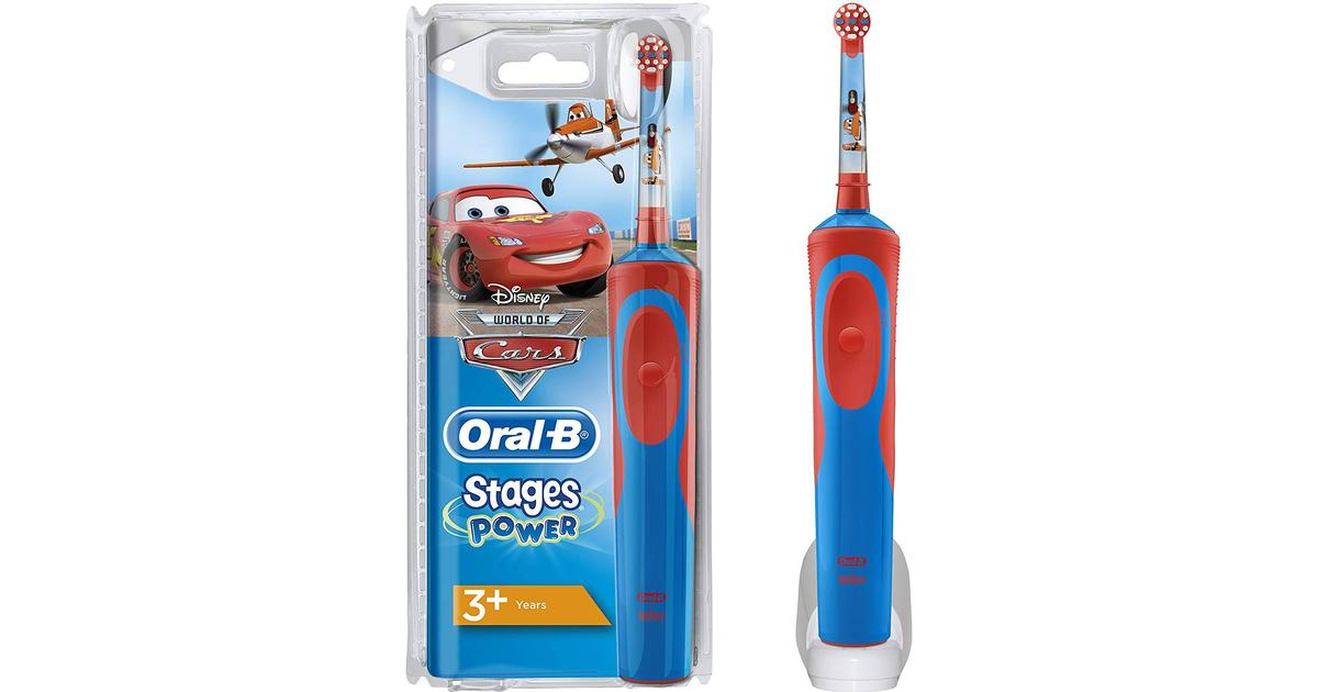 Oral-B Stages Power Kids Rechargeable Disney Cars   Planes 3+ - Hitta bästa  pris f0e733a492a59