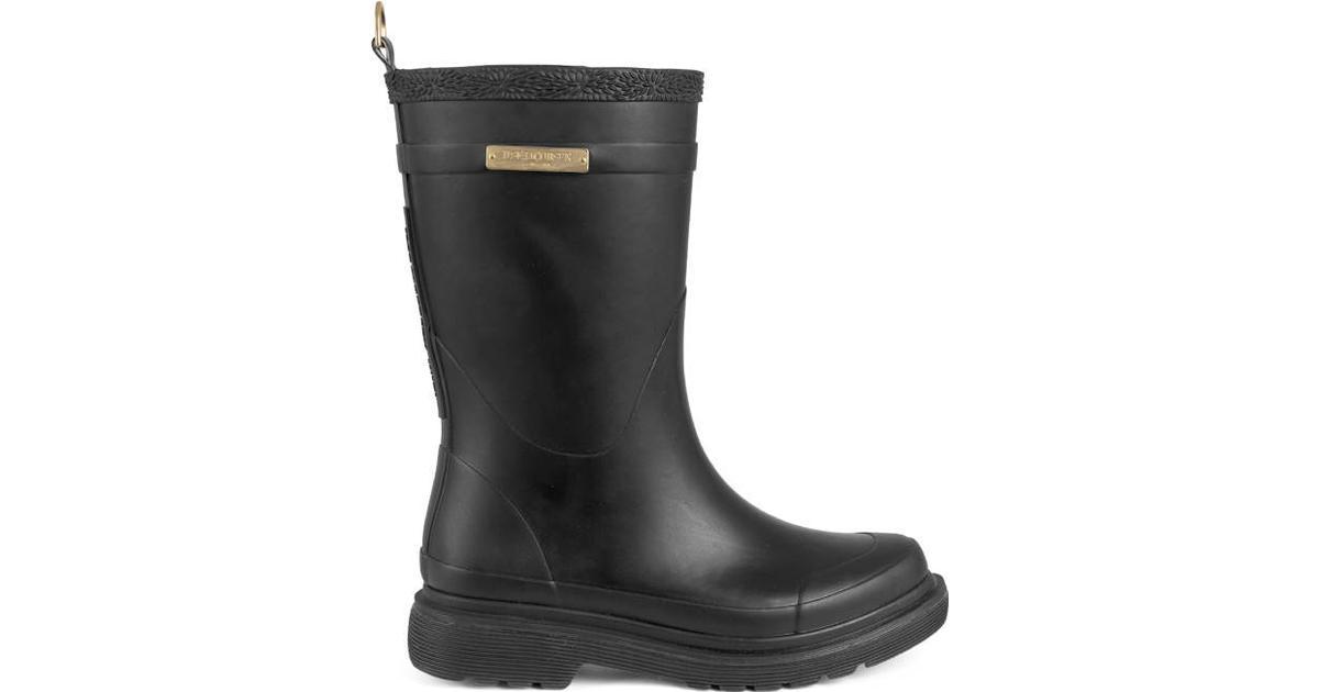 dde6f8a2 Ilse Jacobsen Rubber Boots - Black - Sammenlign priser hos PriceRunner