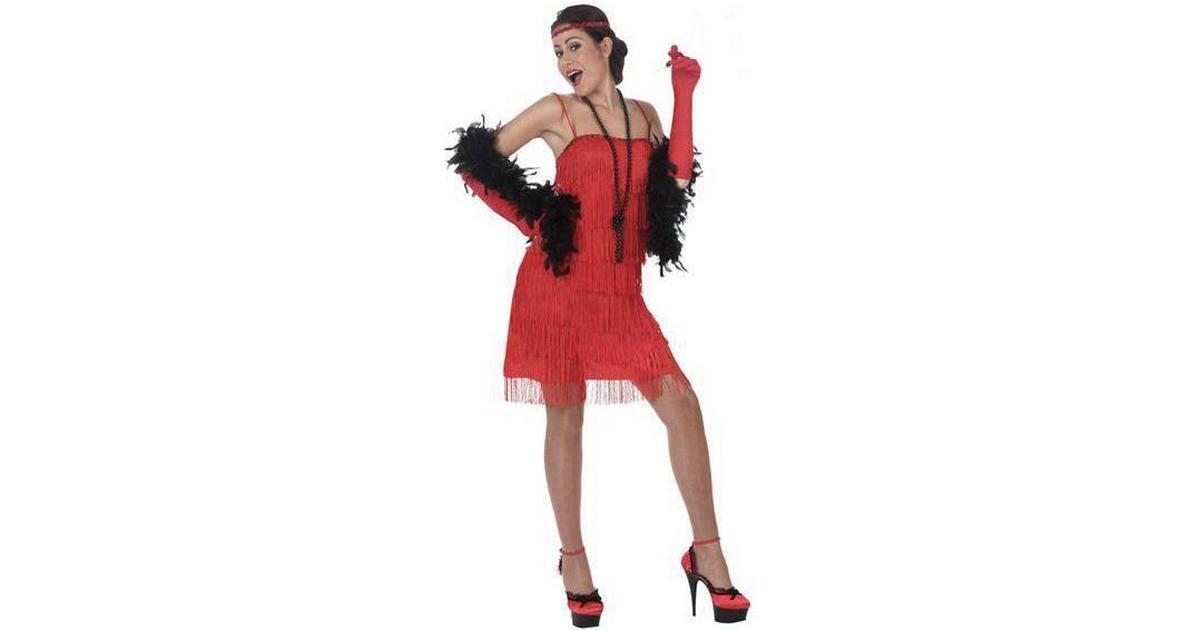 0ab9678f1703 Th3 Party Maskeraddräkt Vuxna Charleston Röd - Hitta bästa pris,  recensioner och produktinfo - PriceRunner