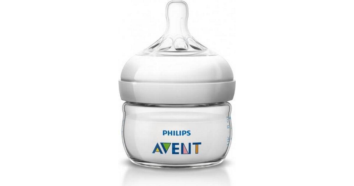 Philips Avent Natural Nappflaska 60ml - Hitta bästa och billigaste pris hos  PriceRunner 707a3df8b6998