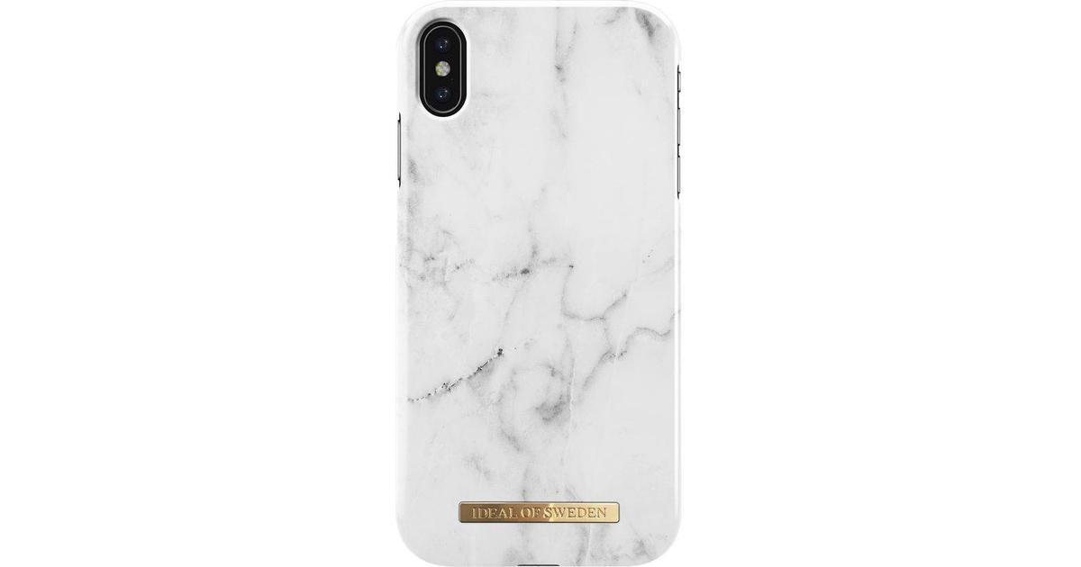 ... iDeal of Sweden White Marble Fashion Case (iPhone XS Max) - Hitta bästa  pris ... eda14eb0bc925