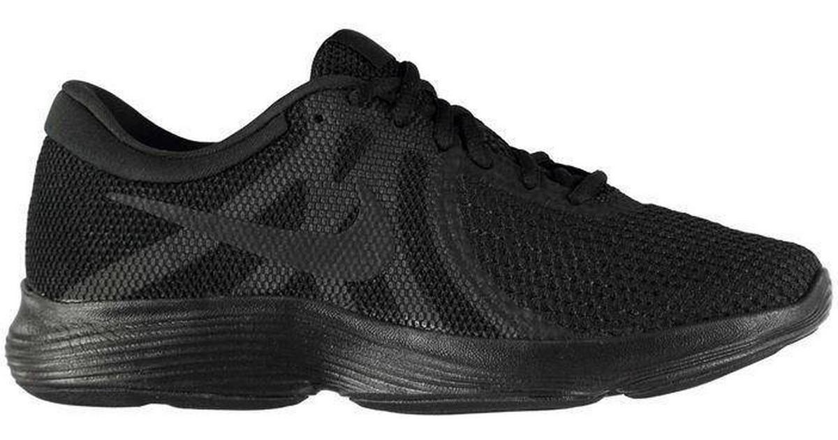 e6e5737d Nike Revolution 4 Black/Black - Sammenlign priser hos PriceRunner