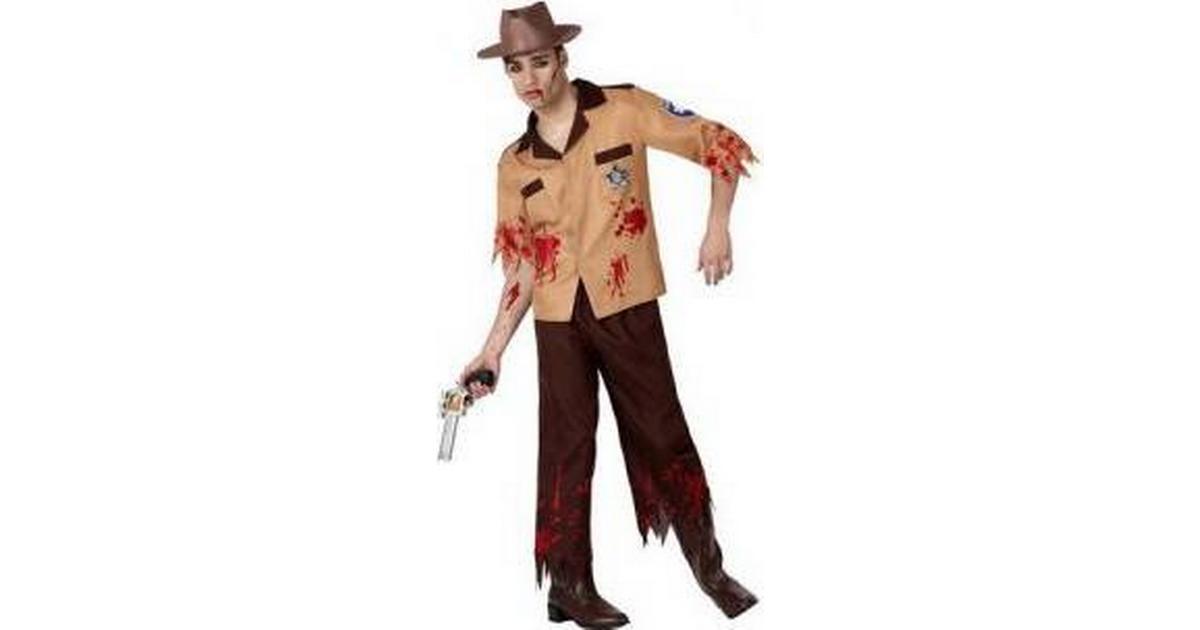 Th3 Party Maskeraddrakt Vuxna Zombie Polis - Hitta bästa pris ... 8641415de0a78