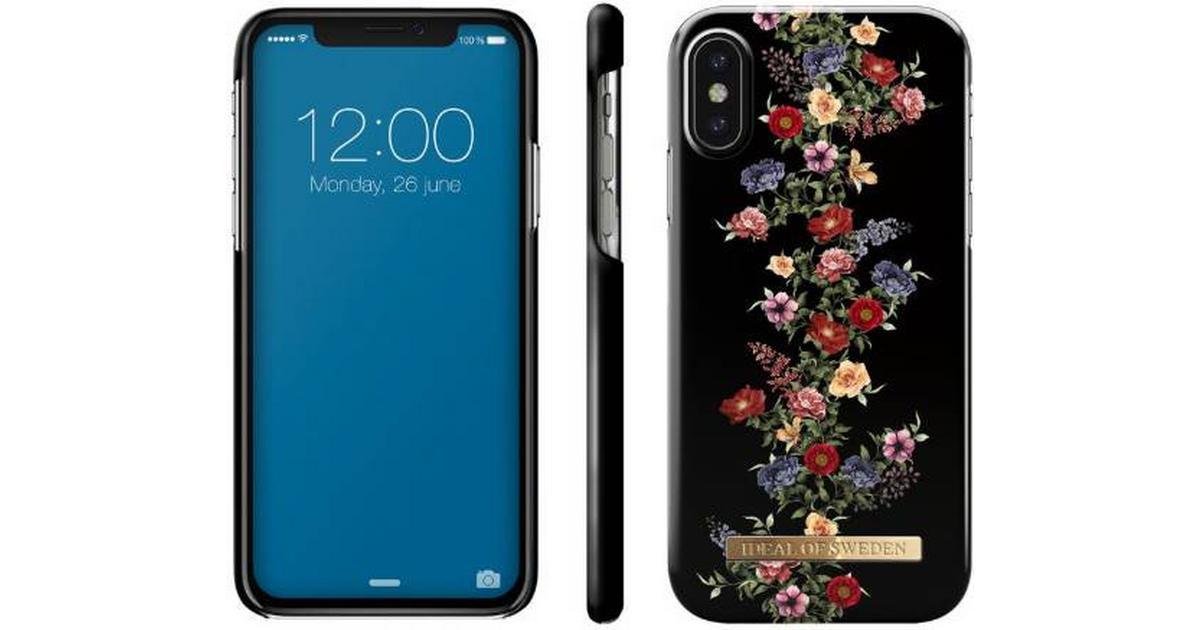 iDeal of Sweden Dark Floral Fashion Case (iPhone X iPhone XS) - Hitta bästa  pris 277b9e5b63f65