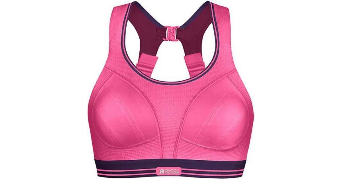 shock absorber ultimate run bra pink hitta b sta pris. Black Bedroom Furniture Sets. Home Design Ideas