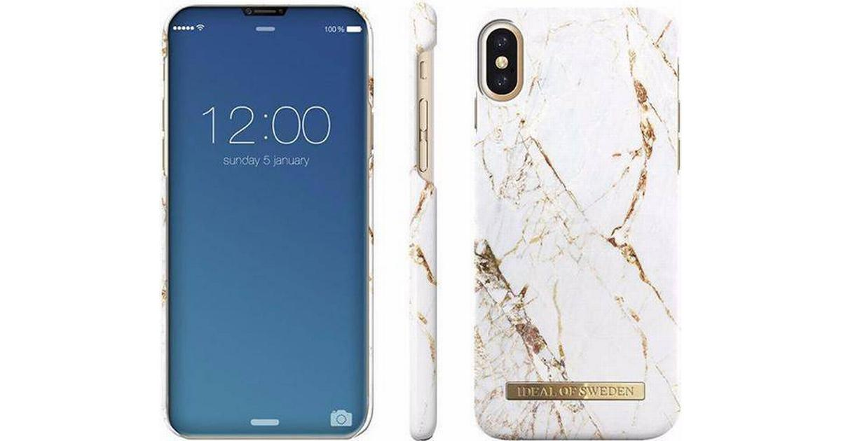 new products 6884a 310bc iDeal of Sweden Carrara Gold Fashion Case (iPhone XS Max)