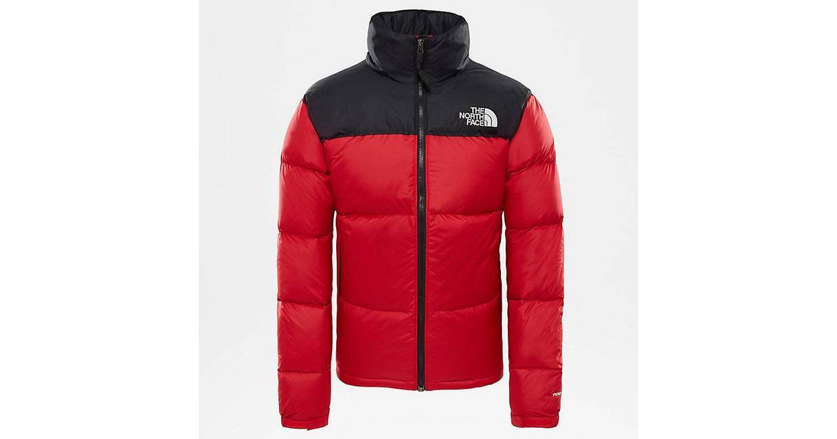Face Down Nuptse Tnf Sammenlign 1996 North Jacket Retro The Red TZxq5fcB