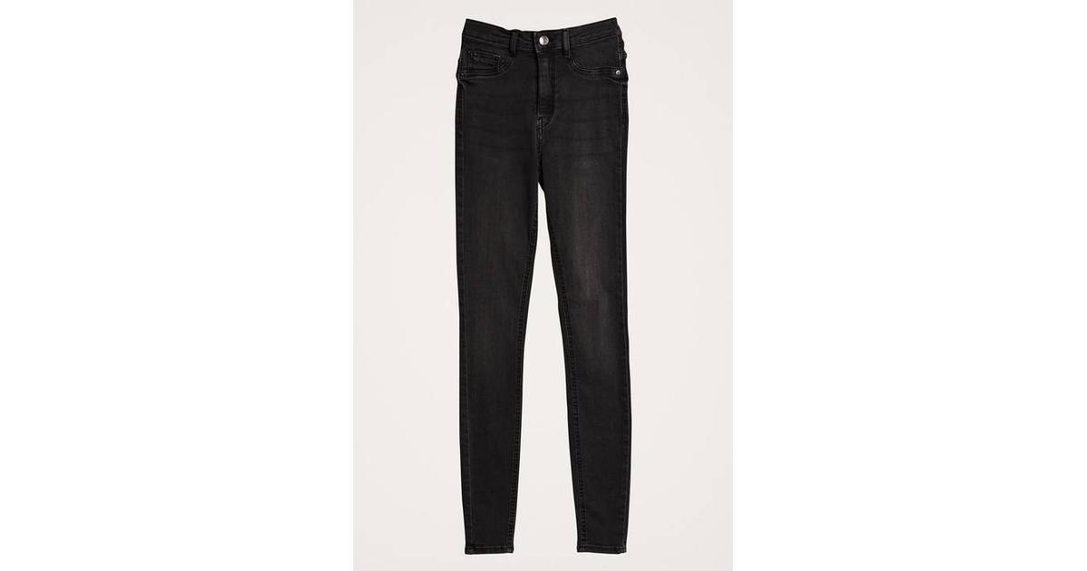 d53711886a0 Gina Tricot Molly Highwaist Jeans - Black/Grey a - Sammenlign priser hos  PriceRunner