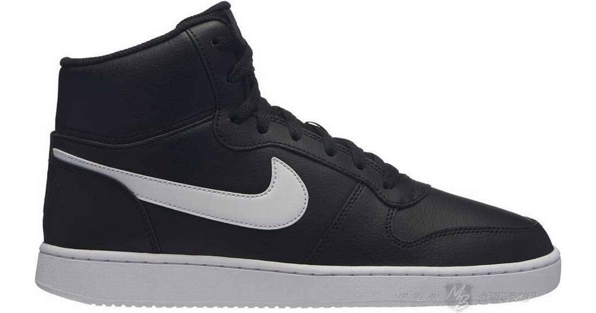 057ef0ff3dd Nike Ebernon Mid - White/Black - Sammenlign priser hos PriceRunner