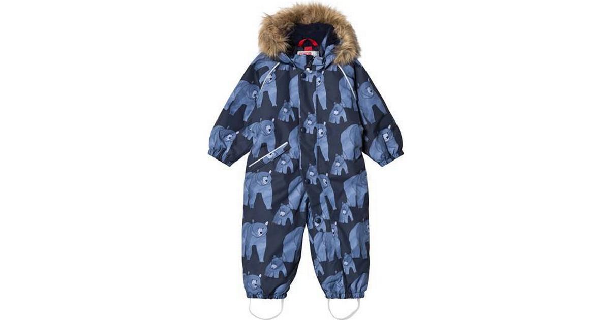 28b232b8916 Reima Lappi Winter Overall - Denim Blue (510308-6797) - Sammenlign priser  hos PriceRunner