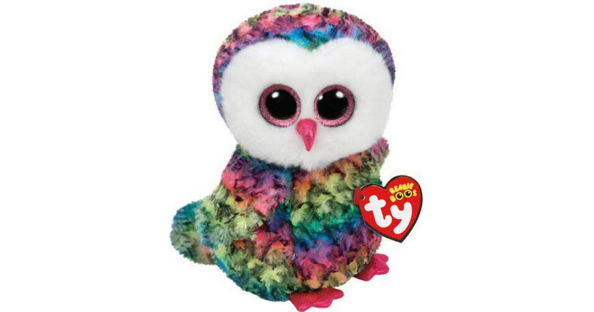 4340233827e TY Beanie Boos Owen the Owl 15cm - Compare Prices - PriceRunner UK