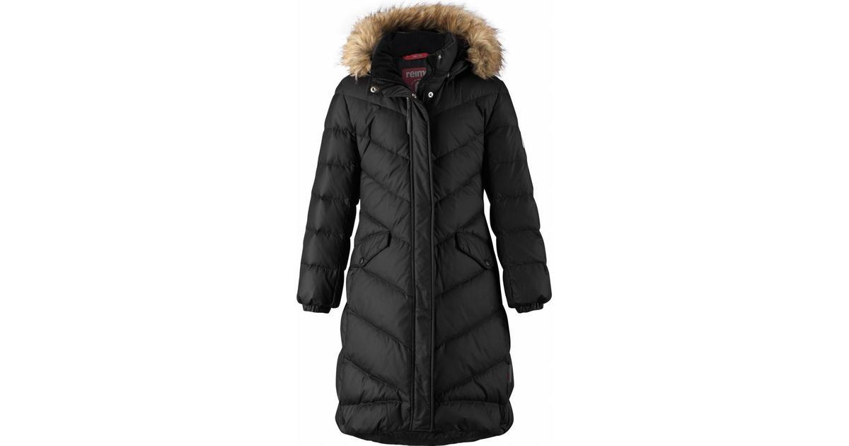 33b51cc5923 Reima Down Jacket Satu - Black (531352-9990) - Sammenlign priser hos  PriceRunner