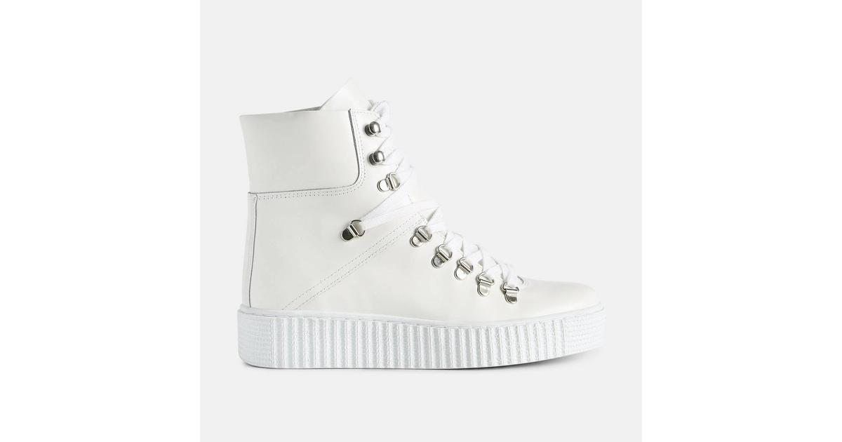 5c190350db2 Shoe The Bear Agda Polido White - Sammenlign priser hos PriceRunner
