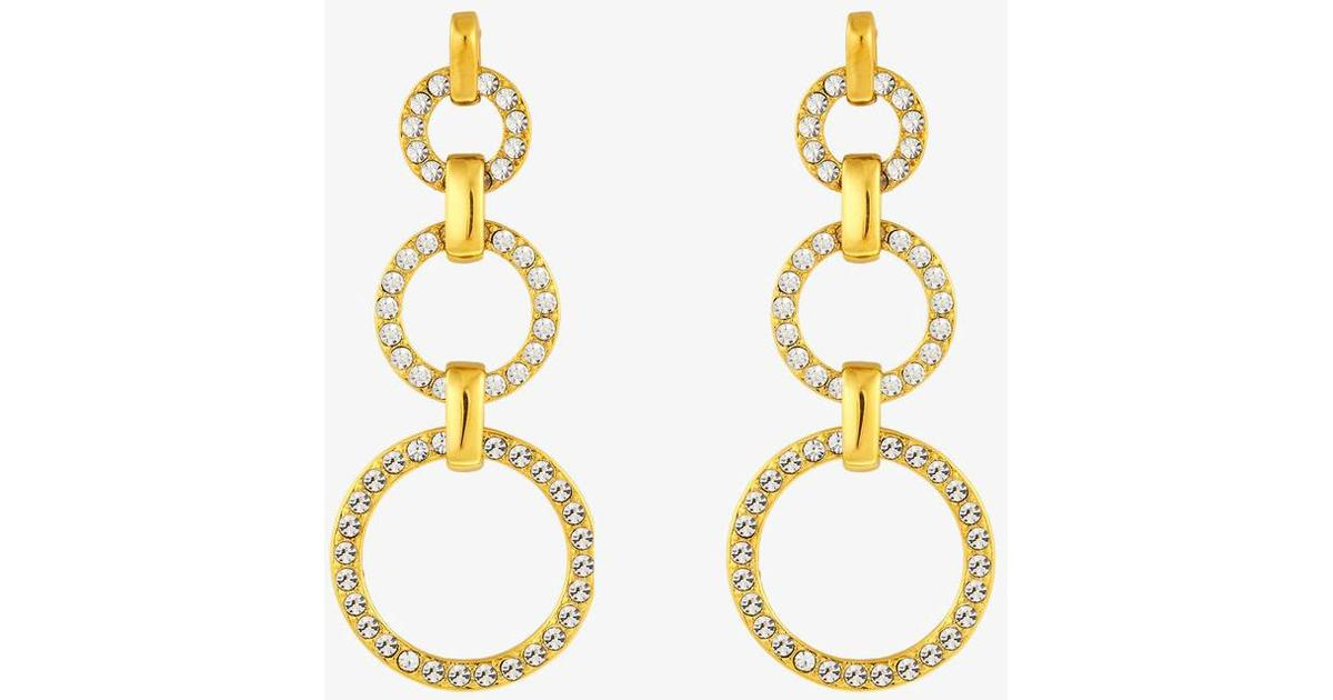167deb29 Dyrberg/Kern Neema Stainless Steel Earrings w. Crystal (351630) - Sammenlign  priser hos PriceRunner