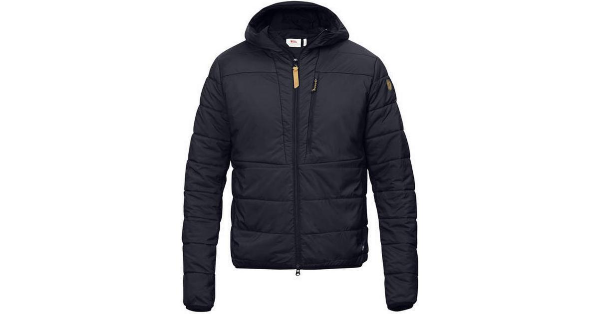 3178ca0332f Fjällräven Keb Padded Hoodie Jacket - Night Sky - Sammenlign priser hos  PriceRunner
