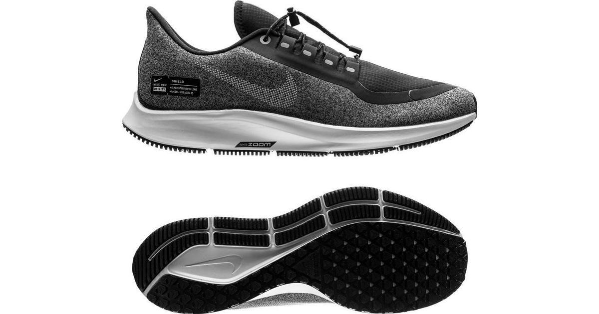 the latest 83841 d544b Nike Air Zoom Pegasus 35 Shield W - Black Grey Silver - Hitta bästa pris,  recensioner och produktinfo - PriceRunner