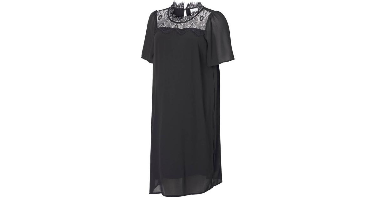 489ae275b616 Mama.licious Lace Maternity Dress Black/Black (20009422) - Hitta bästa  pris, recensioner och produktinfo - PriceRunner