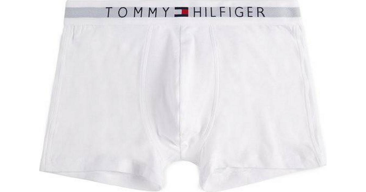 f2b4ffb843f Tommy Hilfiger Branded Cotton Boxer Shorts - Hvid