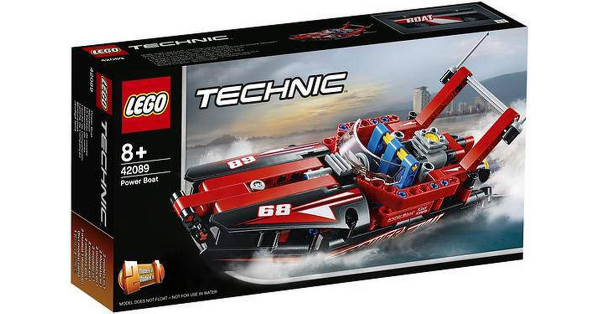Lego Technic Power Boat 42089 Compare Prices Pricerunner Uk