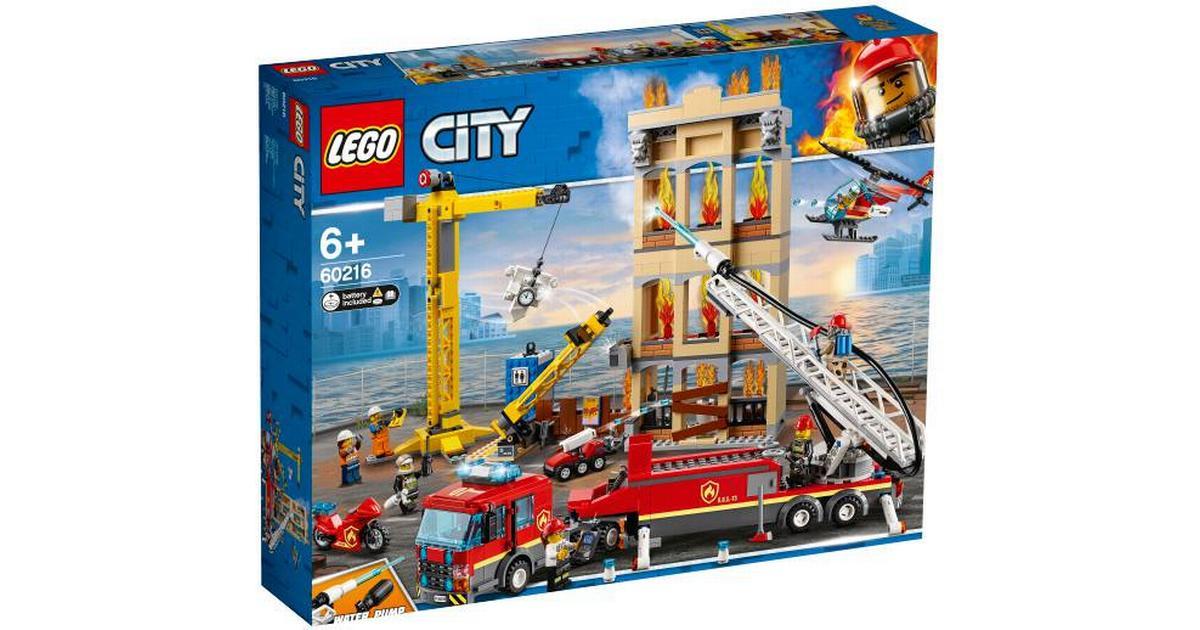 59137765 Lego City Midtbyens Brandvæsen 60216 - Sammenlign priser hos PriceRunner