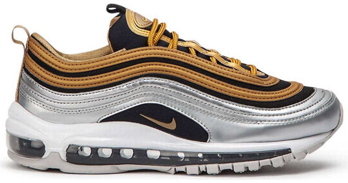 buy online 28a12 7eaf1 Nike Air Max 97 SE Metallic - Gold Silver Black - Hitta bästa pris,  recensioner och produktinfo - PriceRunner