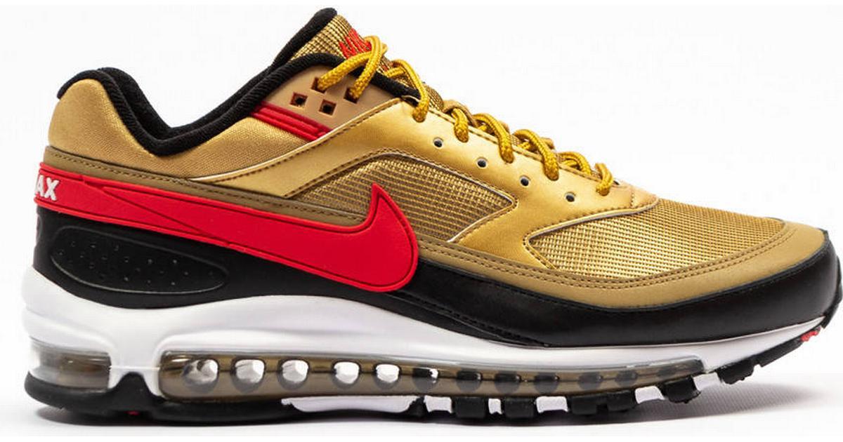 the best attitude 8db85 4716f Nike Air Max 97/Bw - Gold/White/Red/Black - Sammenlign priser hos  PriceRunner