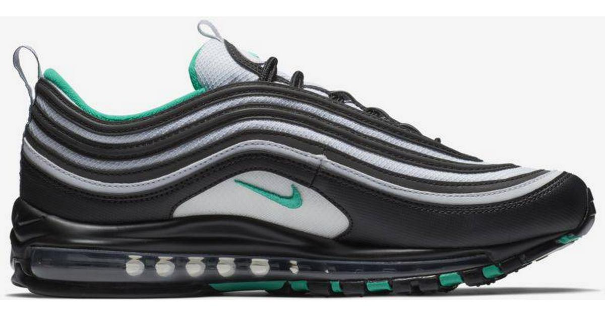 sports shoes 62afa 7c67b Nike Air Max 97 - BlackWhiteClear Emerald - Sammenlign priser hos  PriceRunner