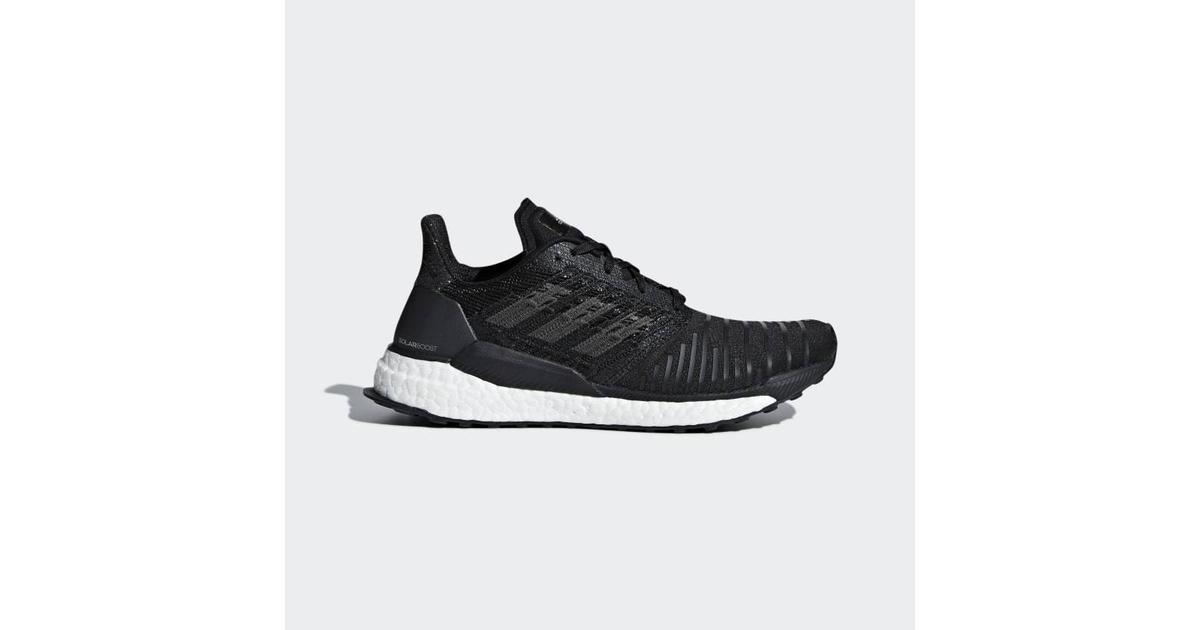 4dcd4522cd77 Adidas Solar Boost W - Grey White Black - Sammenlign priser hos PriceRunner