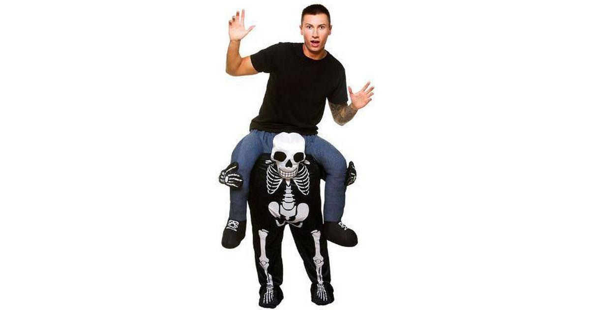Wicked Costumes Carry Me Skelett Maskeraddräkt - Hitta bästa pris ... 1e9557bc84783